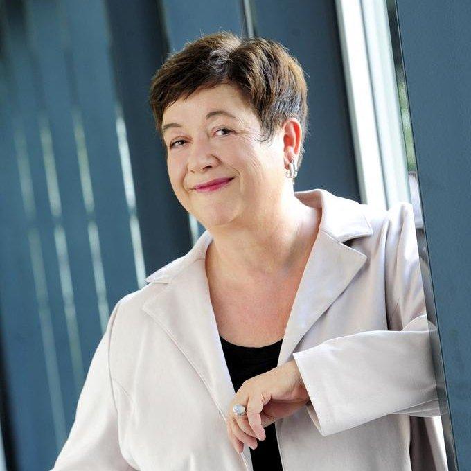 Ein Profilbild von Marion Wermann, der stellvertretenden Regierungssprecherin des Freistaats Thüringen.