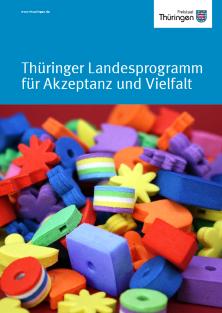 Cover der Broschüre Akzeptanz und Vielfalt